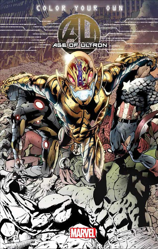 Color Your Own Age Of Ultron Marvel Comics 9780785195245 Amazon Com Books