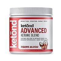 Ketond Advanced Ketone Supplement — Best Ketone Weight Loss Supplement — Tigers Blood (15 Servings)