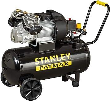 Stanley 2017217 Kompressor V2 400 10 50 Kompakt Elektrisch Druck 10bar 42 Kg Tank 50 Lt Motorleistung 3 Ps Baumarkt