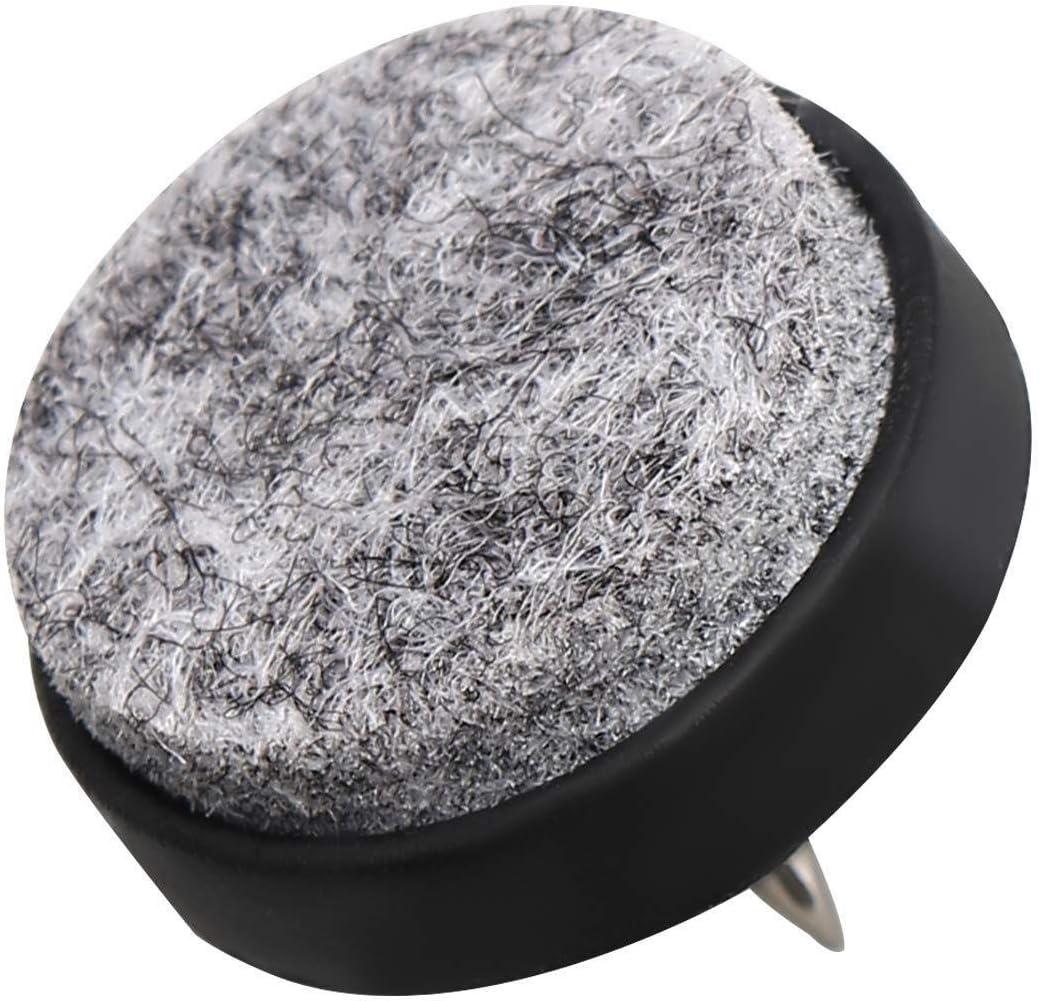 KANKOO Patins de Protection pour Meubles Tapis de Feutre pour Meubles Clous pour jambi/ères de Table Moufles /étanches /à lhumidit/é Meubles en Bois Canap/és Tapis de Chaise Noir 56 Pack