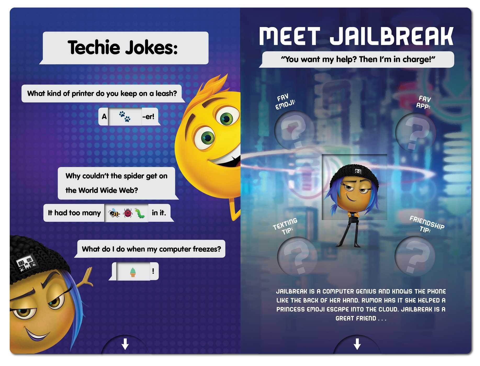 Joke Book and Emoji Translator Calling All Emojis
