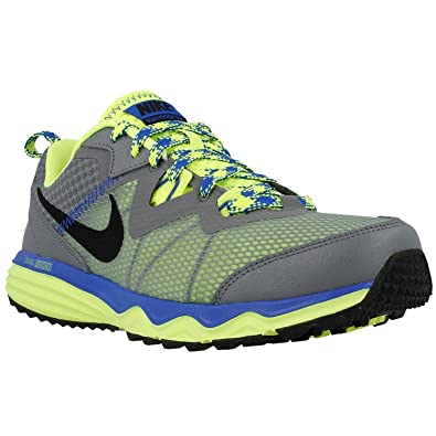 new concept 826f2 a3a3d Nike Mens Dual Fusion Trail Running Shoes-Cool Grey Black-9