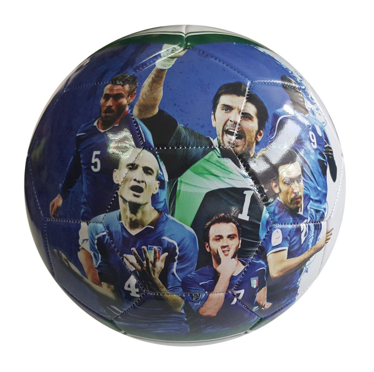IsportギフトイタリアナショナルチームKidsサッカーボールサイズ5 for Kids & Adult プレミアムギフトユースサッカーボールユニークなデザイン耐久性ソフト構造 B0721911ZZSize 5