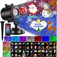 Ocean Wave 2-in-1 Christmas LED Projector Light