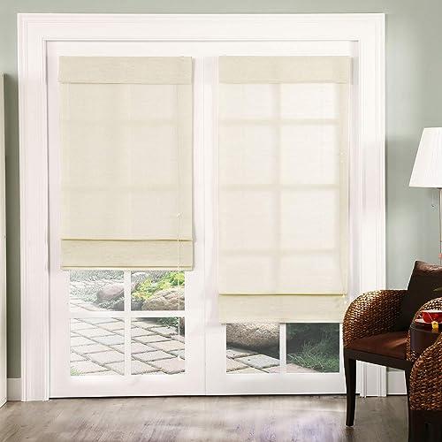 Chicology Standard Cord Lift Roman Shades Window Blind