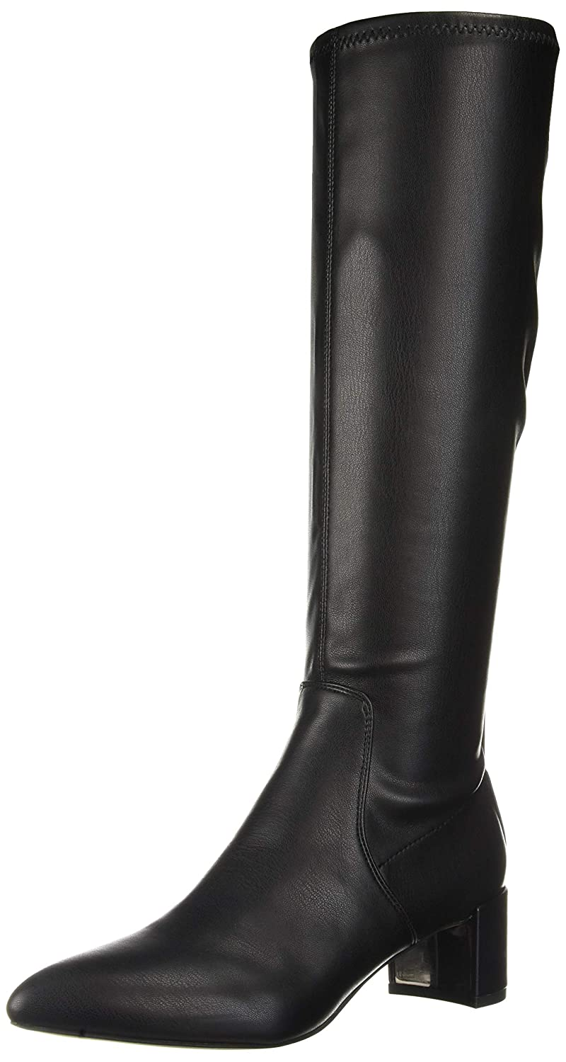 Black Franco Sarto Womens Francia Knee High Boot
