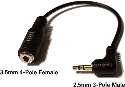 Cable adaptador de auriculares para teléfonos inalámbricos ...