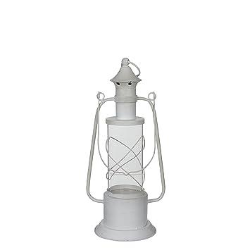 Mica Decorations 133513 Lantern Granada White Amazon Co Uk Garden