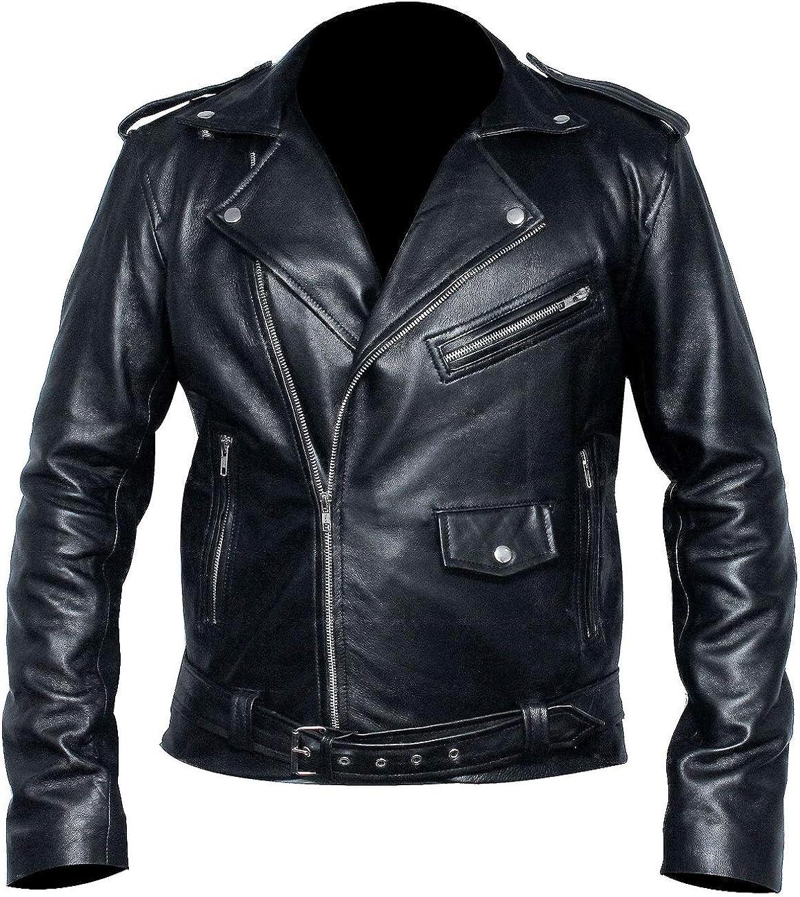 Mens Snake Gang S Logo Snake Patch Jughead Jones Cole Sprouse Black Real Leather Jacket