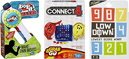 UNO and LOW DOWN Card Game Ages 7 2 Games by Mattel Brand New