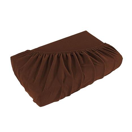 SHC Textilien Sábana Bajera Ajustable Jersey para colchones con o sin muelles, Funda de colchón