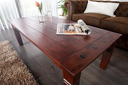 Diseño mesa de centro estilo colonial en la Habana 110 cm madera ...