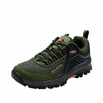 Ben Sports Zapatillas de senderismo Botas de senderismo Correr en montaña Gris para Hombre,37-47