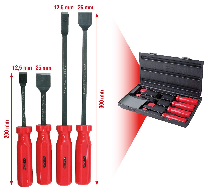SK Hand Tool KS Tools Gasket Scraper Set 4 pcs Clear