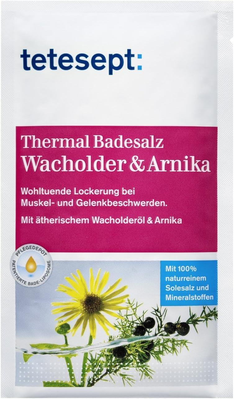 tetesept 40393 Thermal Sales de baño Movilidad (Pack de 10, 10 x 80 g): Amazon.es: Belleza