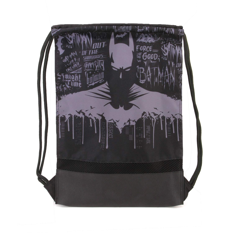 Karactermania Batman Knight-Strap Turnbeutel Bolsa de Cuerdas para el Gimnasio 41 Centimeters Multicolour