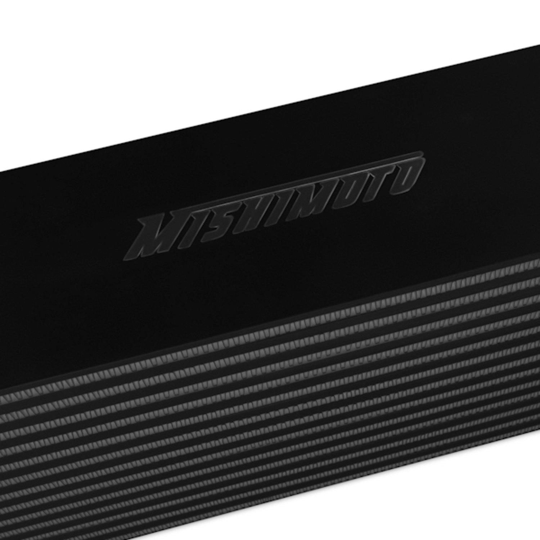 Mishimoto MMINT-UJB Universal Intercooler J-Line Black