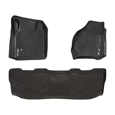 MAX LINER A0176/B0176 for 1999-2007 Ford F-250 / F-350 / F-450 Super Duty Crew Cab, Black: Automotive