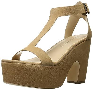 283c9ee329a0 Amazon.com  LOEFFLER RANDALL Women s Minette Wedge Sandal  Shoes