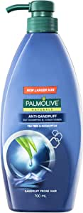 Palmolive Naturals Anti Dandruff 2 in 1 Hair Shampoo and Conditioner Tea Tree and Eucalyptus, 700mL