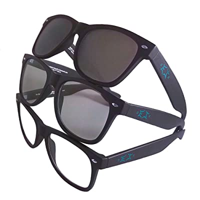 EJ Moonshot Z87.1 Transition Blue-Block Motorcycle Glasses: Clothing