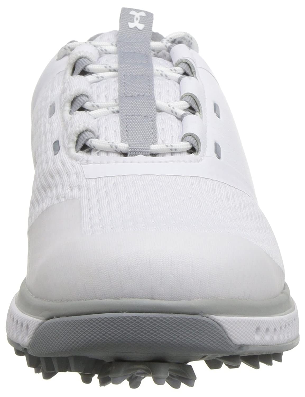 Under Armour Women's Fade RST Golf Shoe B074Z39D6S 7 M US|White (102)/Overcast Gray