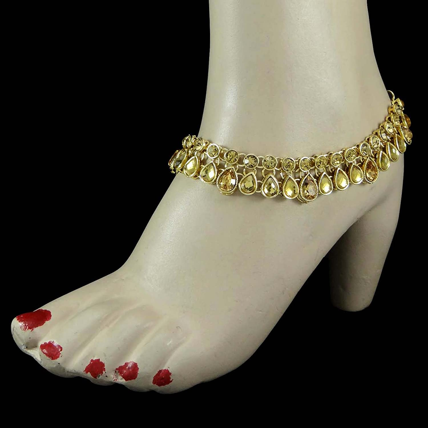 indian anklet bride jewelry pin bridal barefoot boho wedding beach silver heavenly sandals
