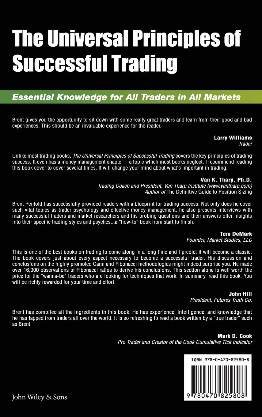 Buy The Universal Principles Of Successful Trading Essential
