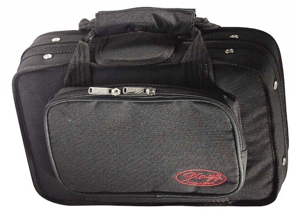 Stagg HBB CL Soft Case for Clarinet with Adjustable Shoulder Straps - Black