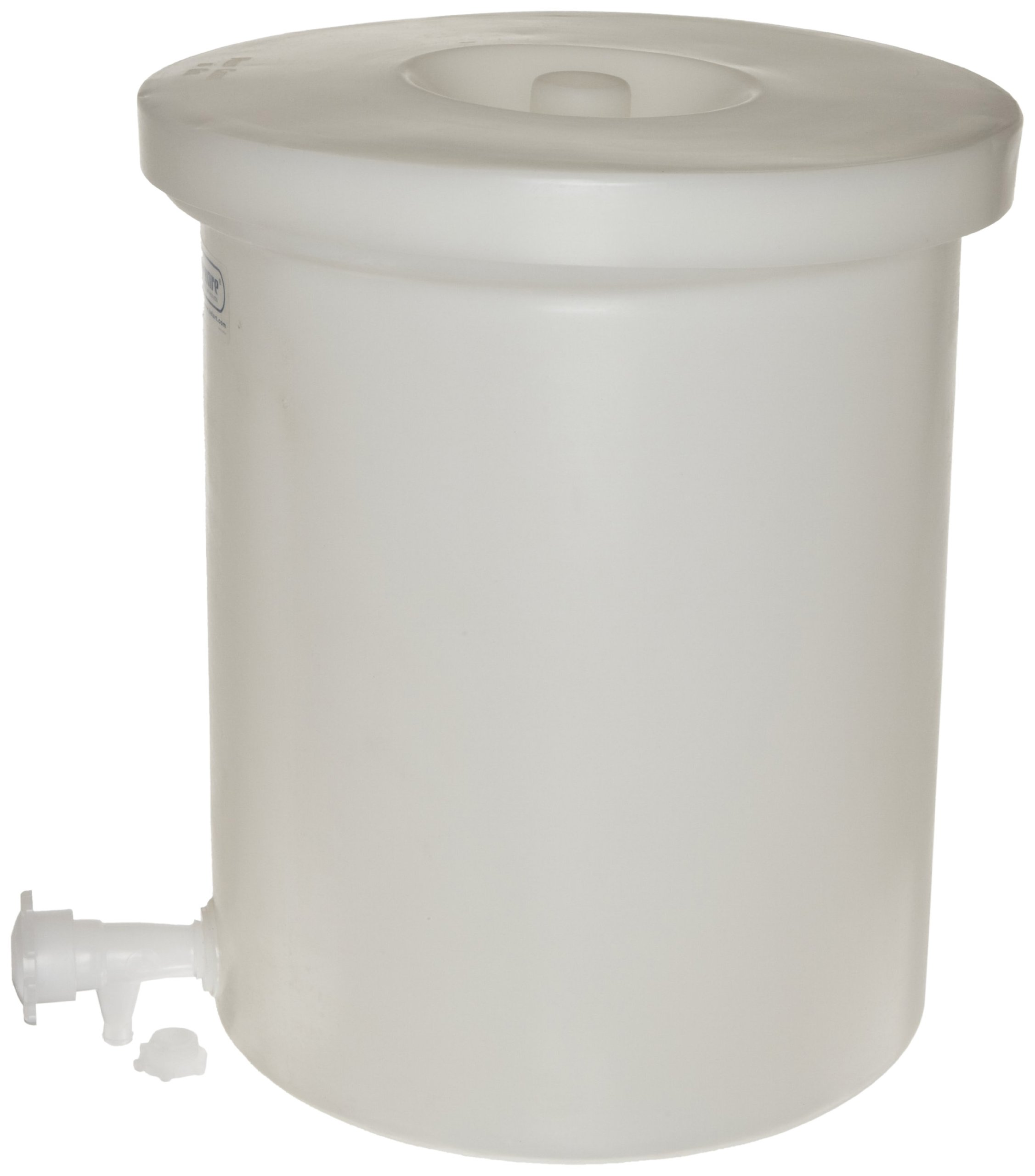 Bel-Art Polly-Crock Polyethylene Tank with Lid, without Faucet; 3gal (H35103-0000)