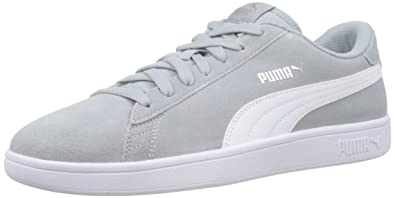 Puma Men's Low Top, Grey (High Rise Silver White 30), US 7.5