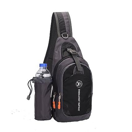 613d084c7029 Sling Bag Chest Pack Shoulder Sling Backpack Waterproof Unbalance Casual  Cross Body Bag with Adjustable Shoulder
