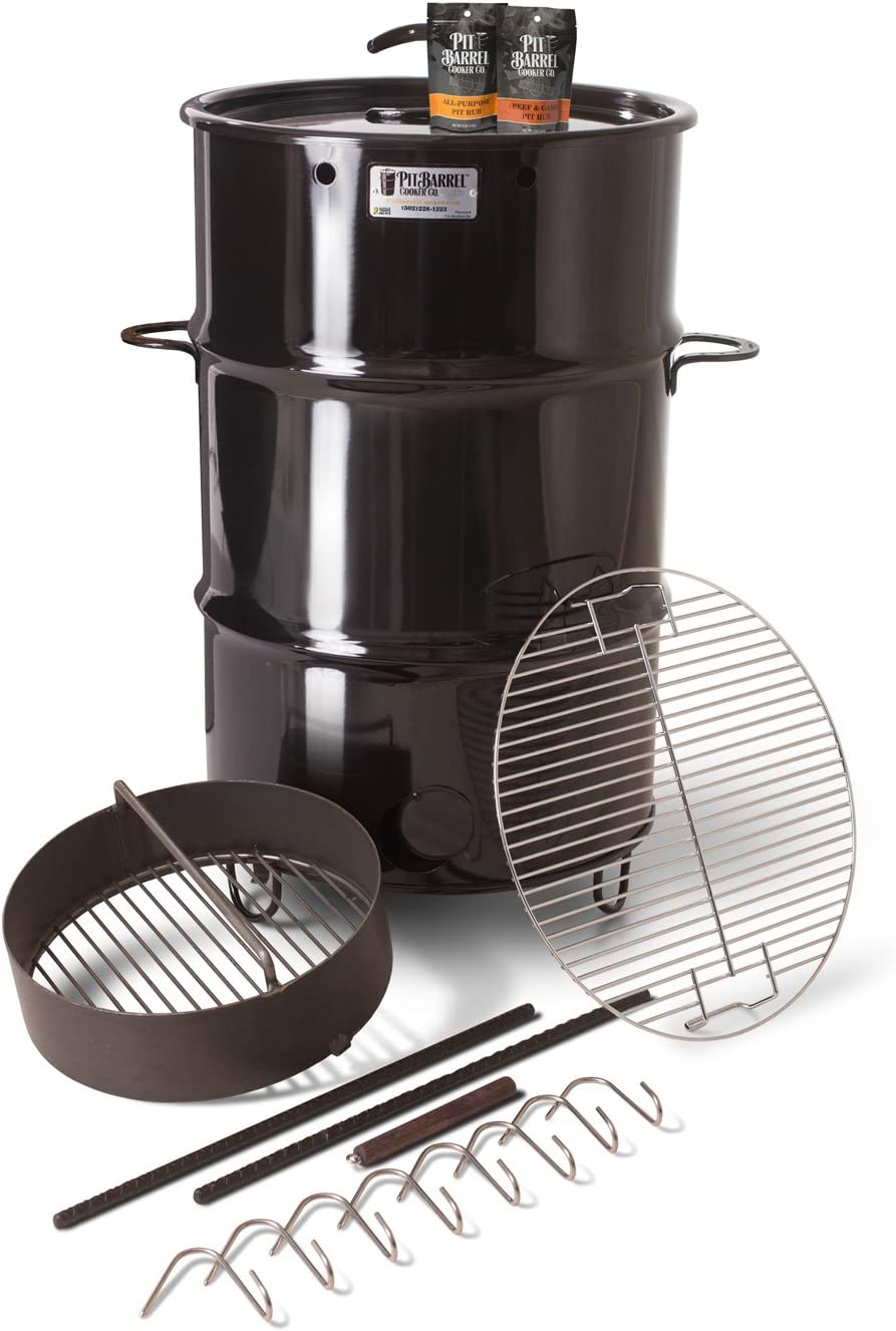 8-1/2 in. Classic Pit Barrel Cooker Package review
