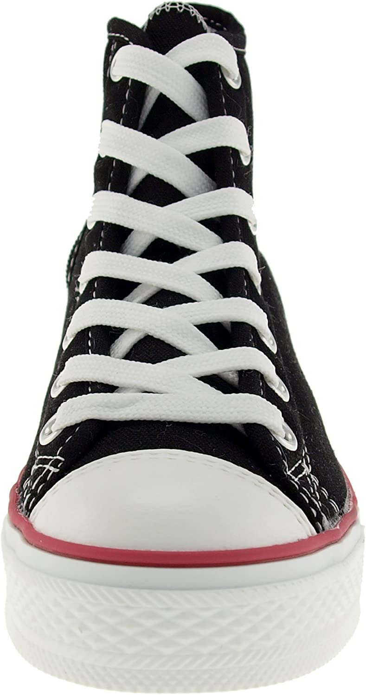 M Maxstar C1-1 7-Holes Casual Canvas Platform Sneakers Black 8.5 B US Womens