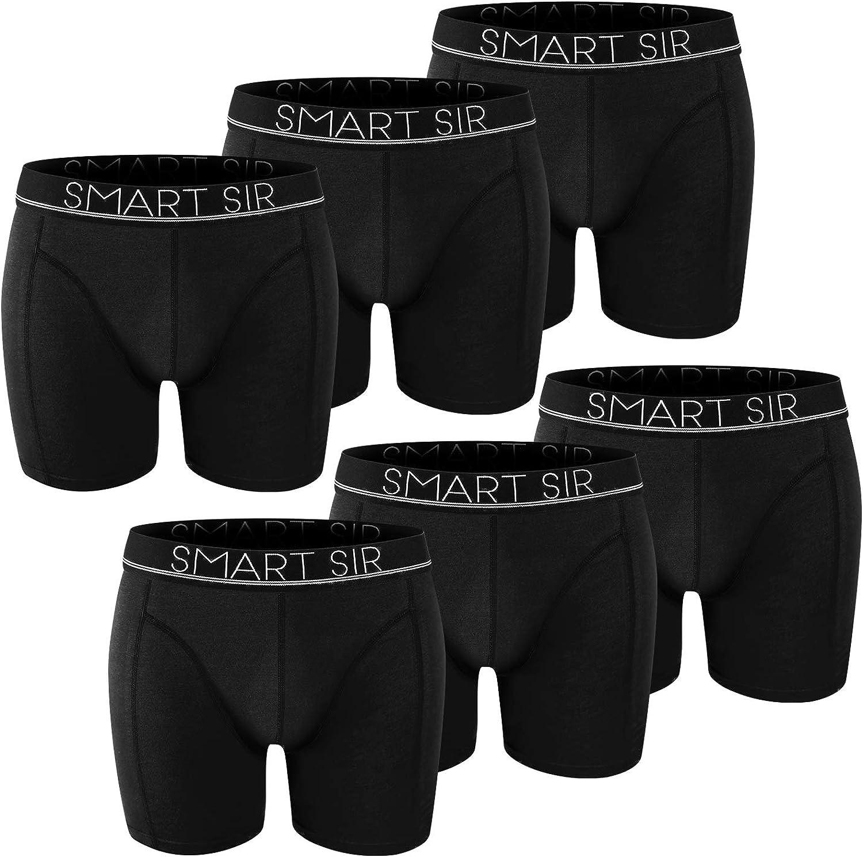 Cale/çon Boxer Homme / Lot de 6 sous-v/êtements de Sport Boxer Hommes Coton