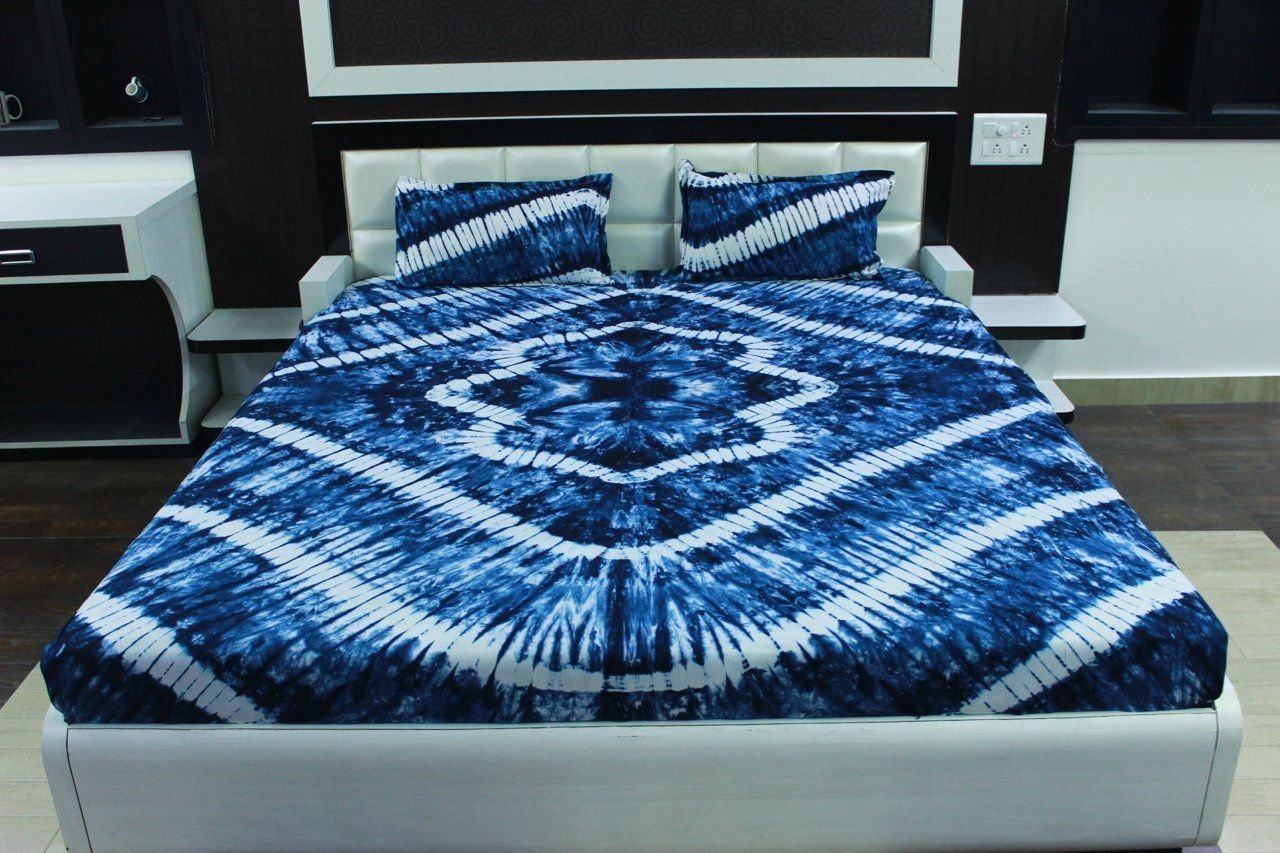 Indian Queenボヘミアン曼荼羅ベッドカバーベッドスプレッドスローハンドメイド寝具セット B078YMC5FY