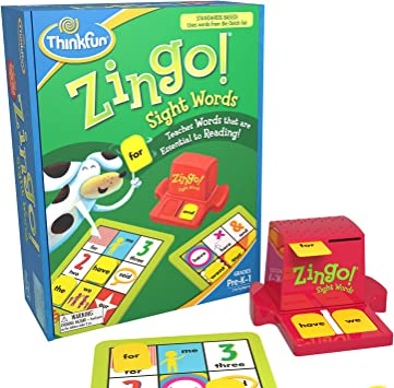 Think Fun Zingo Sight Words - Juego de Mesa para Aprender a Leer (en inglés): Think Fun Zingo Sight Words: Amazon.es: Juguetes y juegos