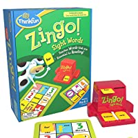 ThinkFun Zingo Sight Words Award Winning Early Reading Game for Pre-K to 2nd Grade...