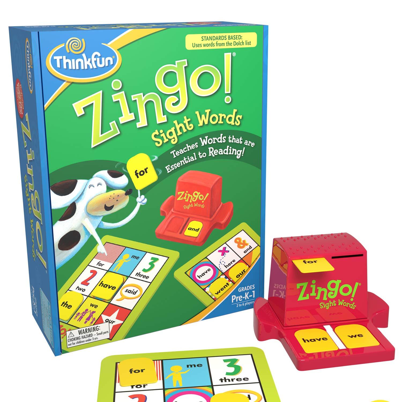 Amazon ThinkFun Zingo Sight Words Reading Reviews