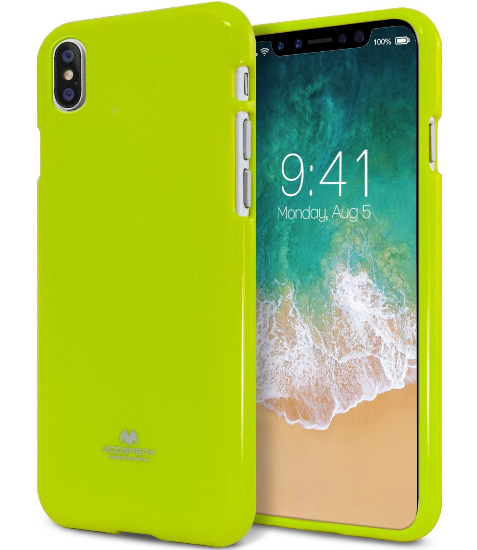 Iphone X Case Goospery Pearl Glitter Jelly Rubber Hybrid Dream Bumper Red Electronics
