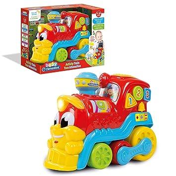 Baby Clementoni- Tren Educativo 123, Multicolor (61599)
