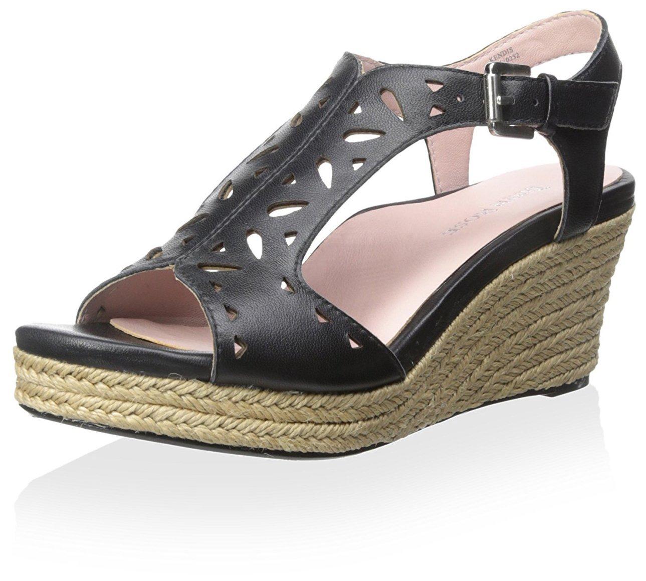Taryn Rose Women's Kendis Sandal B00KAZVL7Q 7 B(M) US|Black
