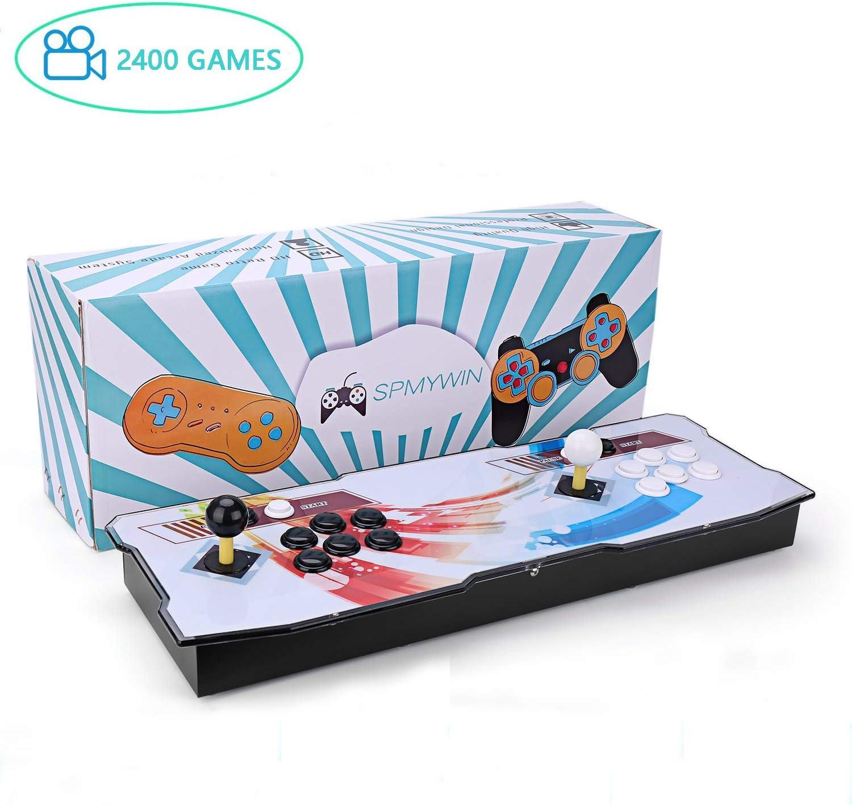 Amazon.es: Spmywin 2400 Juegos Retro Pandora Box 6s Consola Portatil 1280x720 Full HD Maquina Arcade Retro Consolas Videojuegos CPU Avanzada Mini Arcade