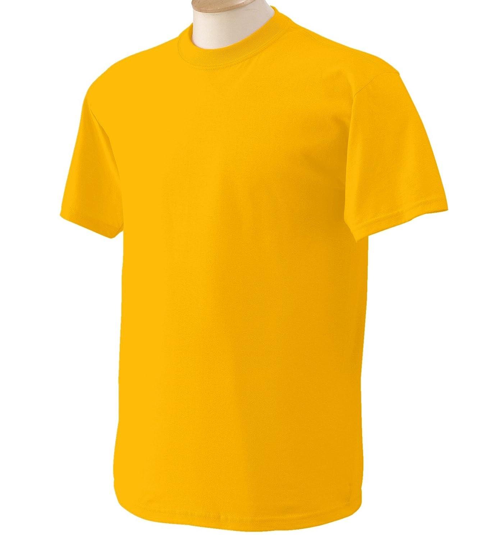 (ギルダン) Gildan メンズ ヘビーコットン 半袖Tシャツ トップス カットソー 定番 男性用 B009LK4L6O 3L ゴールド ゴールド 3L