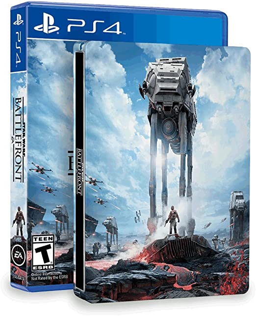 Star Wars: Battlefront & SteelBook (Amazon Exclusive) - PlayStation 4 by Electronic Arts: Amazon.es: Videojuegos