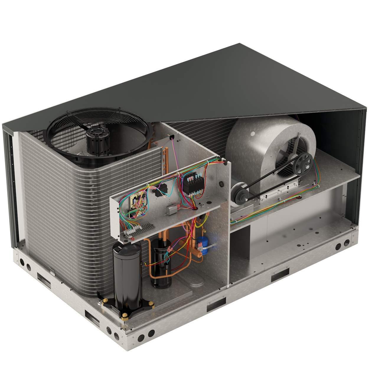 Low NOX 17.5 Width 1,200 CFM Goodman GMVC960603BN Variable Speed 2-Stage UPFLOW//Horizontal Gas Furnace 96/% AFUE 60,000 BTU//H