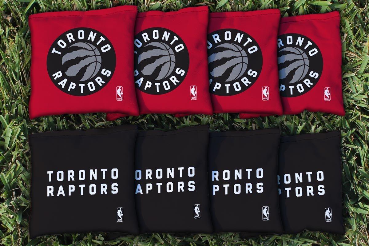 NBA Replacement All Weather Cornhole Bag Set NBA Team: Toronto Raptors