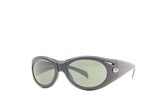 Vuarnet Unisex-Erwachsene Sonnenbrille VL-1125-P00A-1121, Schwarz (Black/Grey), 56