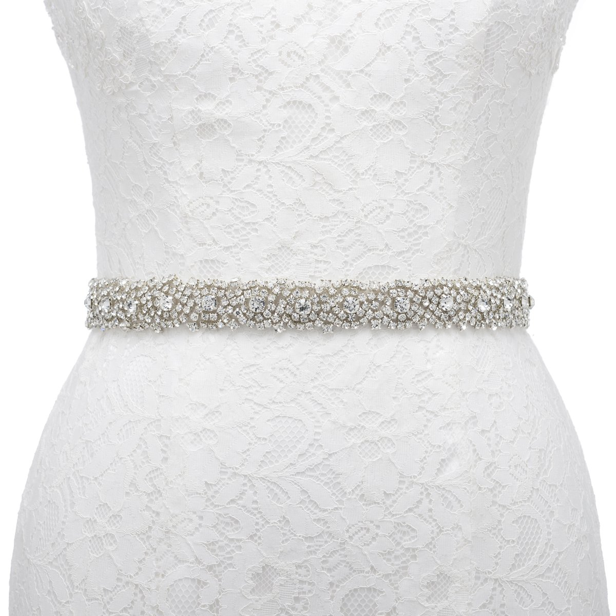 Wedding Dress Belts: Rhinestone Belts For Dresses: Amazon.com