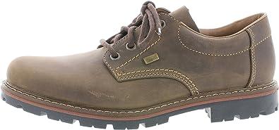 Rieker 17712 - Zapatos con Cordones de Piel Lisa Hombre
